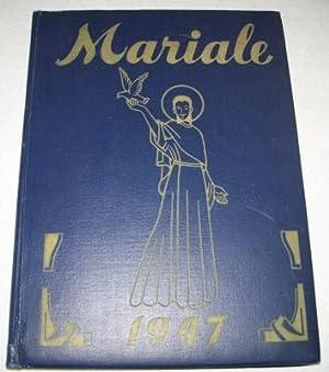 Mariale 1947: Saint Francis Seminary, Loretto, PA: N/A