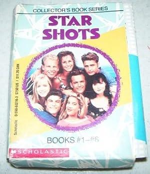 Star Shots Collector's Book Series Books 1-6: Beverly Hills 90210-Luke Perry, Jason Priestley,...