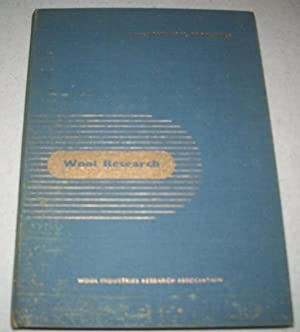 Wool Research Volume 2: Physical Properties of: N/A