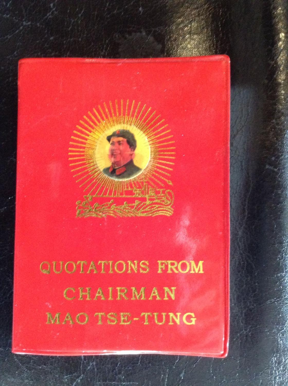 Quotations from chairman Mao Tse-tung: Mao, Zedong