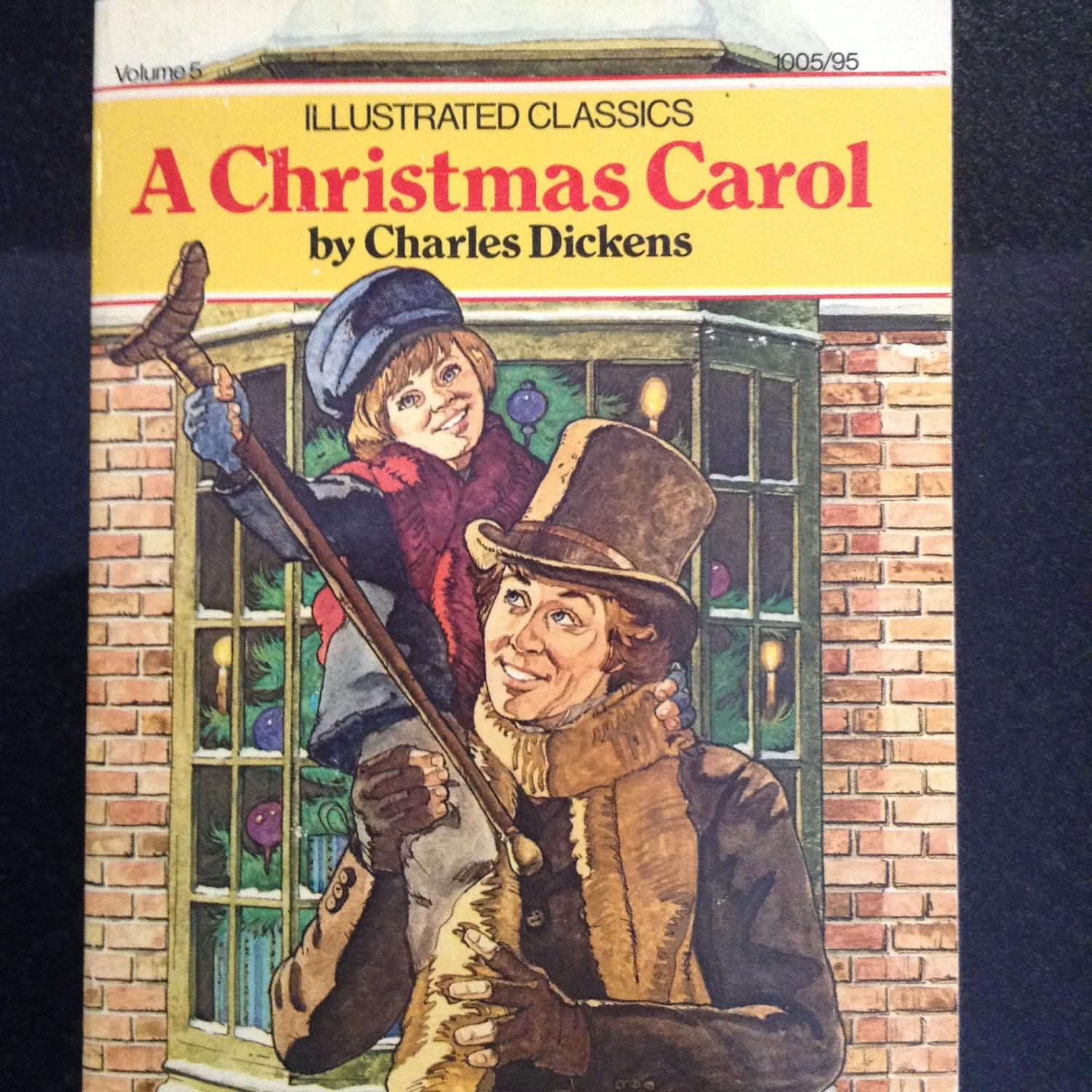 """Illustrated Classics """"A Christmas Carol by Charles Dickens Dated 1979 (Once Upon a Classic) by ..."""