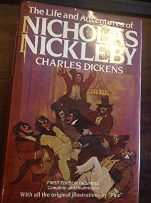 The LIFE And ADVENTURES Of NICHOLAS NICKLEBY.: Dickens, Charles [1812