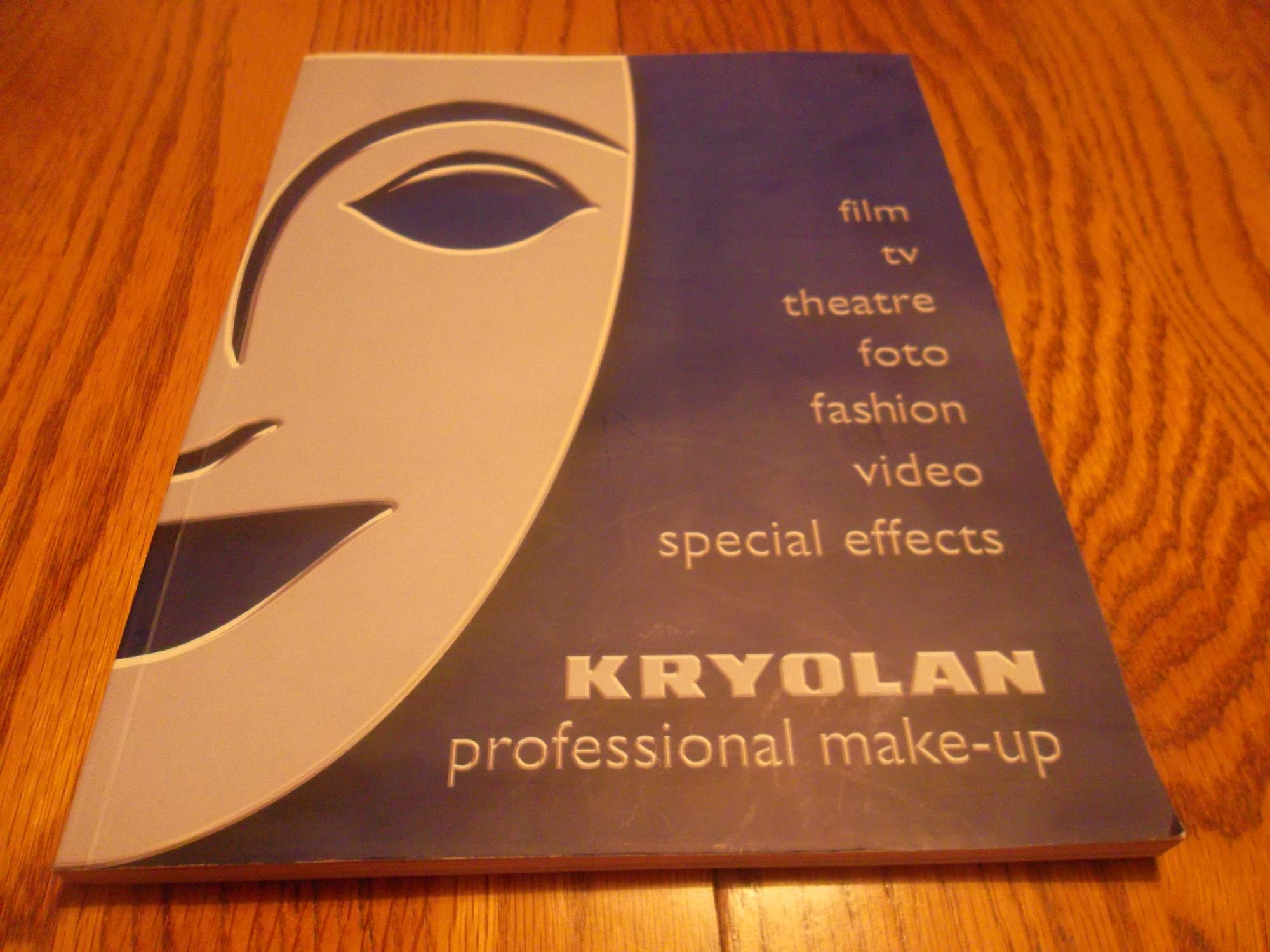 Kryolan; Professional Make-up -Film, tv, theatre, foto, fashion, video, special effects Kryolan Very Good Softcover