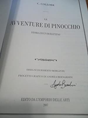 The Pinocchio Adventures (Le Avventure Di Pinocchio: Collodi C.