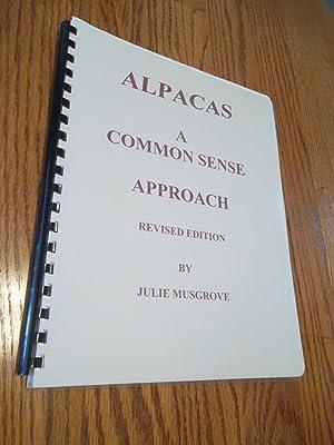ALPACAS; A Common Sense Approach: Julie Musgrove