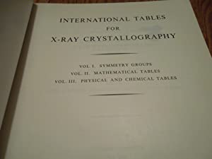International Tables for X-Ray Crystallography; VOLUME II: Unknown