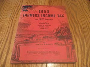 1953 Farmers Income Tax on 1952 Income Including Filled-in Forms, Check Lists, Examples
