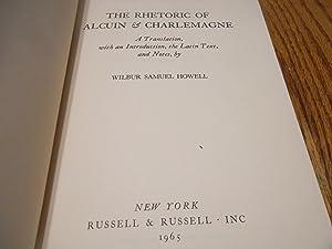 The Rhetoric of Alcuin & Charlemagne: Wilbur Samuel Howell