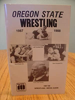 Oregon State Wrestling 1987-1988 (Wrestling Press Guide)