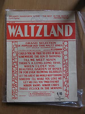Waltzland - grand Selection of Popular Old Time Waltz Songs