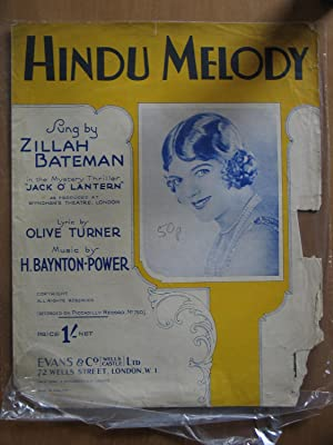 Hindo Music - as Sung By Zillah Bateman