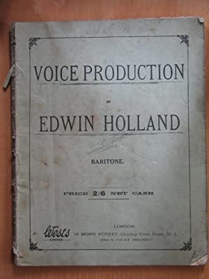 Voice Production - Baritone