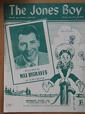 The Jones Boy - as Recorded Byb Max Bygraves