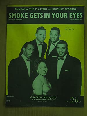 Smoke Gets in Your Eyes - as: Otto Harbach and