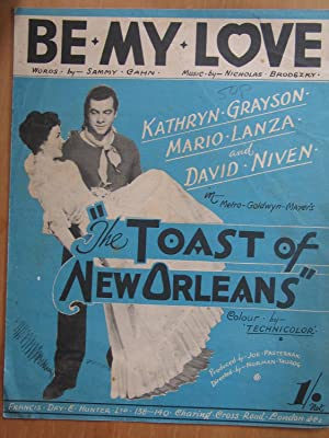 Be My Love - from Film The Toast of New Orleans