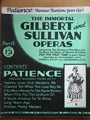 The Immortal Gilbert and Sullivan Operas Part 15 - Patience - Act 1