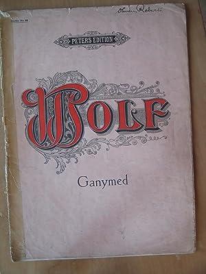 Ganymed - Goethe: Hugo Wolf, English