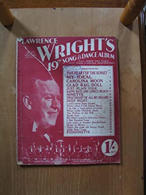 Lawrence Wright's 19th Song and Dance Album