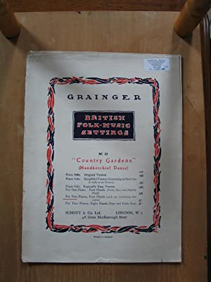 Country Gardens - Handkerchief Dance, for Two Pianos