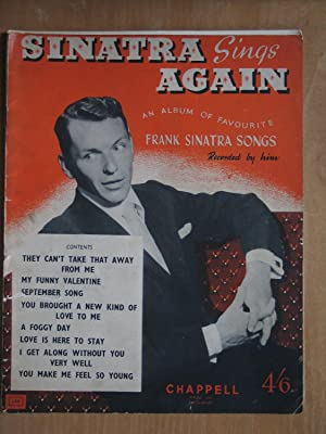 Sinatra Sings Again, an Album of Favourite Frank Sinatra Songs Recorded By Him