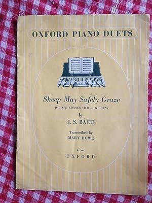 Sheep May Safely Graze - Oxford Piano: Johann Sebastian Bach