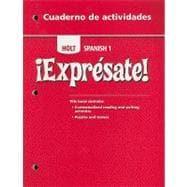 Cuaderno de Actividades, Lvl 1: Activity Book: Unknown