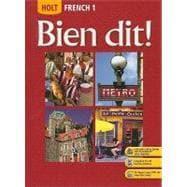 Bien Dit: French 1: Demado, John; Champeny,