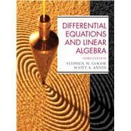 Differential Equations and Linear Algebra: Goode, Stephen W.;