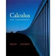 Calculus Early Transcendentals: Briggs, William L.;