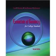 Essentials of Geometry for College Students: Lial, Margaret L.;
