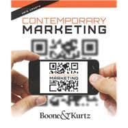 Contemporary Marketing, Update 2015: Boone, Kurtz