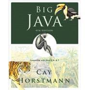 Big Java: Compatible with Java 5, 6: Cay S. Horstmann