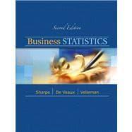 Business Statistics: Sharpe, Norean D.;