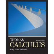 Thomas' Calculus Early Transcendentals: Thomas, George B.,