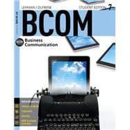 BCOM7 (with CourseMate, 1 term (6 months): Lehman, Carol M.;