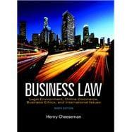Business Law: Cheeseman, Henry R.