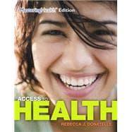 Access To Health: Donatelle, Rebecca J.;