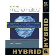 Finite Mathematics, Hybrid (with Enhanced WebAssign with: Waner, Stefan; Costenoble,