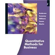 Quantitative Methods for Business (with Printed Access: Anderson, David R.;
