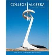 College Algebra: Stewart, James; Redlin,