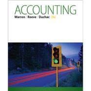 Accounting: Warren, Carl S.;