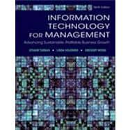 Information Technology for Management : Reinventing the: Turban, Efraim; Volonino,