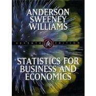 Statistics for Business and Economics: Anderson, David Ray