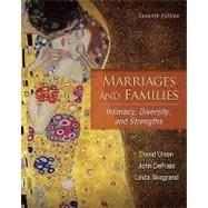 Marriages and Families: Intimacy, Diversity, and Strengths: Olson, David; DeFrain,