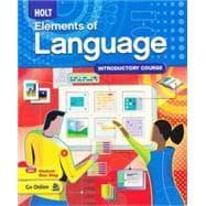 Elements of Language, Grade 6 (Textbook): Holt