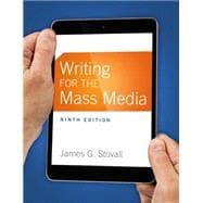 Writing for the Mass Media: Stovall, James G.
