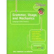 Grammar, Usage, and Mechanics: Language Skills Prctice: Rheinhart And Winston