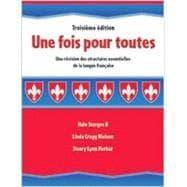 Une Fois Pour Toutes: Une Revision Des: Sturges, Hale, II;