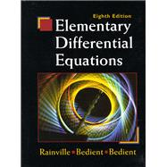 Elementary Differential Equations: Rainville, Earl D.;