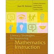 Literacy Strategies for Improving Mathematics Instruction: Kenney, Joan M.;